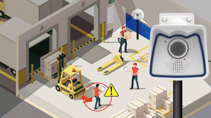 コニカミノルタなど、画像IoT用いた物流現場のフォークリフト事故低減サービス開始