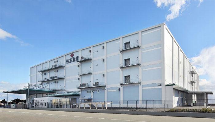 住友倉庫、神戸のポートアイランドに5万平方メートルの新倉庫完成