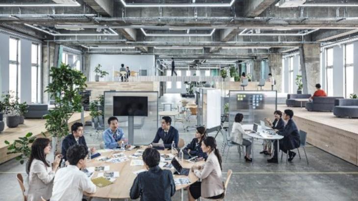 鈴与、本社ビル内の独自執務用空間「CODO」が国内外の建築関係3賞獲得