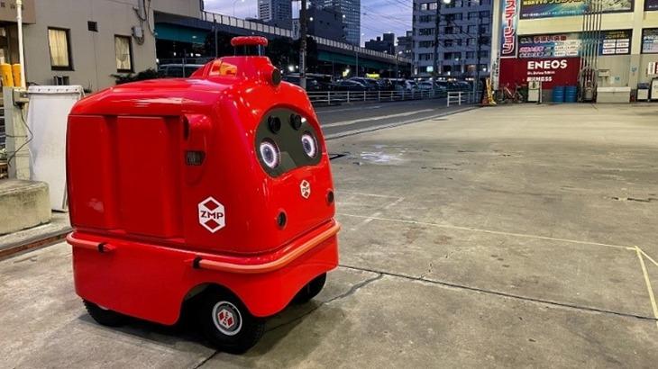 ENEOSなど、国内初のロボットで複数店舗から宅配実験へ