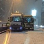 【大雪】国交省、関東甲信地方の大雪予報でドライバーに警戒呼び掛け、運送事業者には「悪質な準備不足は行政処分」と警告