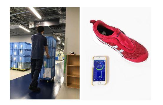 アシックス、センサー使い倉庫や工場の従業員の労働状況を可視化