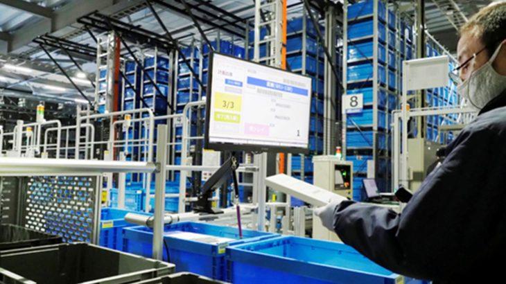 【動画】オリンパスの物流子会社、倉庫で自動化設備が稼働開始