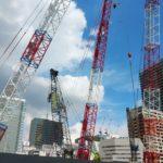 清水建設、日立物流の協力得て都心の建築工事現場で物流改革へ