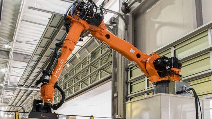 MUJIN、カインズ物流センターで高さ2・3メートルのケース品荷下ろし可能ロボット稼働