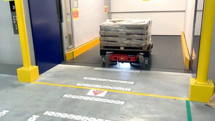 サンゲツ、ZMPの物流ロボットを大阪の自動化物流拠点に導入
