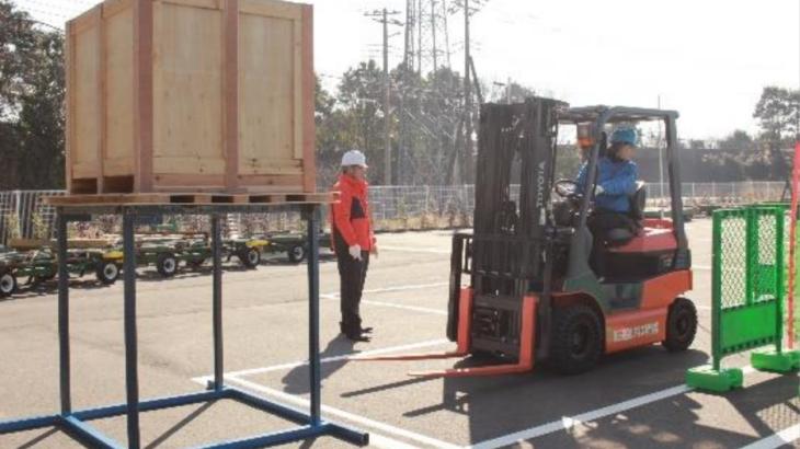 鴻池運輸、空港構内・周辺のフォークリフトオペレーター教習施設を千葉・成田に4月開設