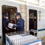 JR九州と佐川急便、新幹線使った貨客混載実験