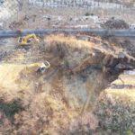 【地震】常磐道の通行止め区間が短縮、土砂崩れの復旧作業続く
