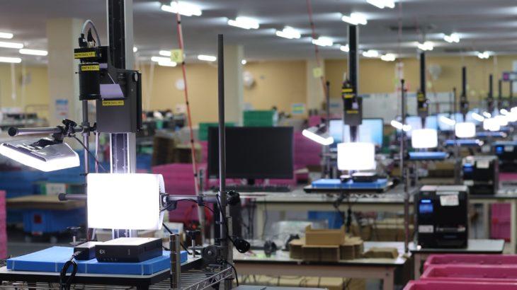 NTTロジスコ、AI画像認識技術使った自動検品システムを導入