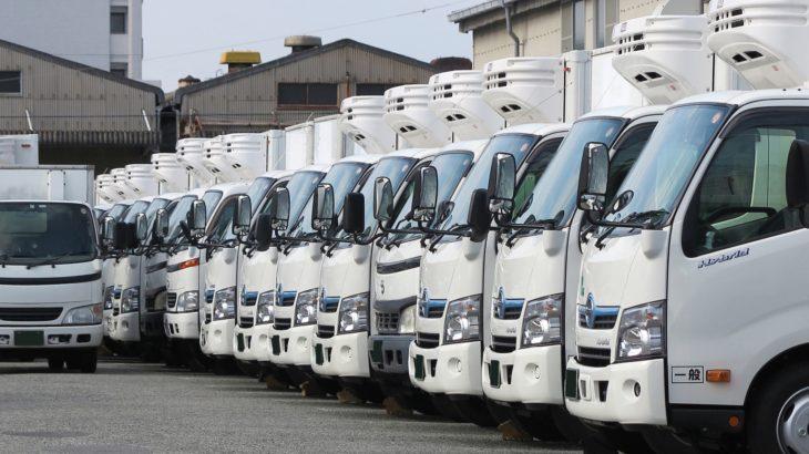 トラック運送業界の景況感、1~3月は3四半期連続で改善