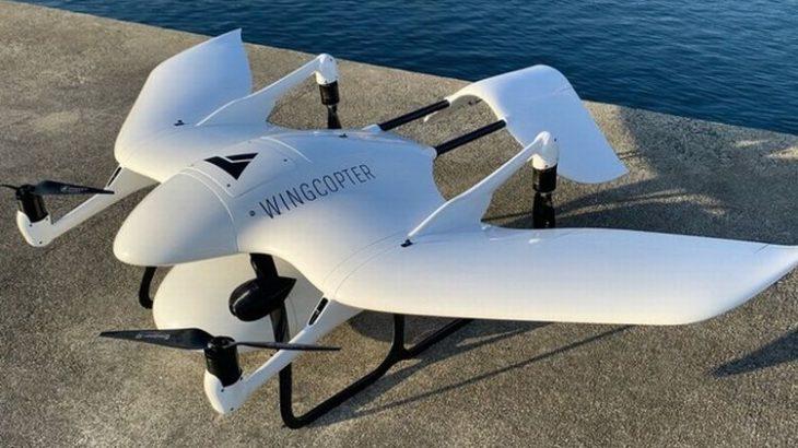 長崎・五島で固定翼VTOL型ドローンが離島に処方箋医薬品運ぶ実証実験へ