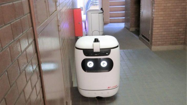 【動画】国内初、オートロックマンション内でロボットが郵便物を住戸に配送