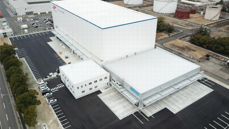 マルハニチロ物流、名古屋で3・7万トンの冷凍・冷蔵拠点が完成