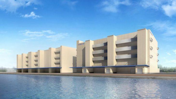 上組、東京港中央防波堤内側埋立地で全館定温可能な新倉庫建設