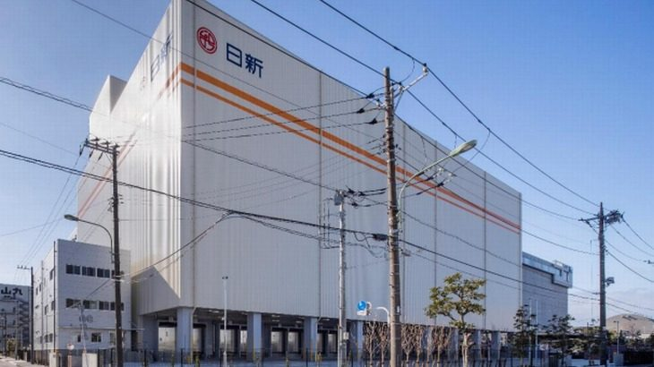 日新、東京・平和島で2・6万トンの冷凍・冷蔵倉庫が完成