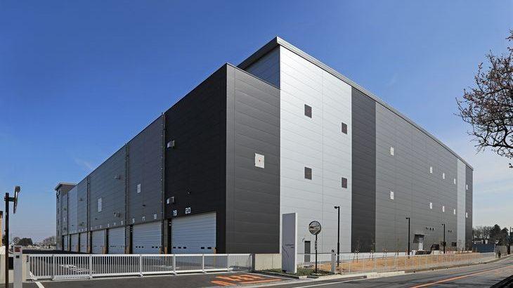 CREが埼玉・三芳町で新たな物流施設完成、東ハトが1棟借り