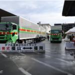 福山通運、全長25メートルのダブル連結トラックを3路線目で運行開始