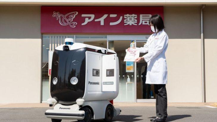 パナソニック、小型ロボットで処方箋医薬品と弁当を配送