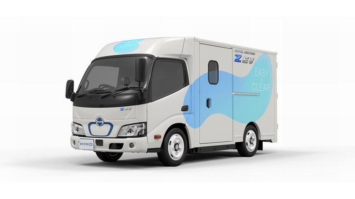 【動画】日野自動車、初のラストワンマイル配送向け小型EVトラック開発