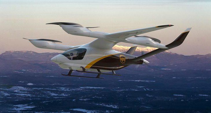 UPS、米スタートアップ開発中の「空飛ぶクルマ」導入へ