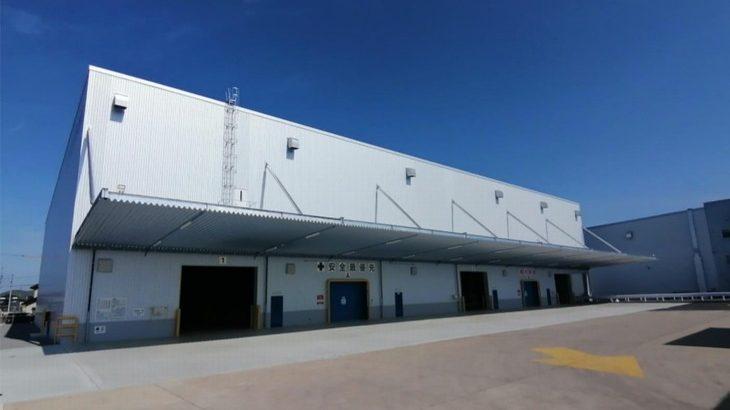 日本梱包運輸倉庫、岡山・瀬戸内の長船営業所で7棟目の新倉庫竣工