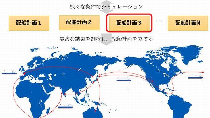 商船三井、数理最適化技術による配船計画支援システムの運用を開始