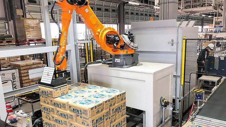 【動画】ニチレイロジ、Mujin開発のAI技術搭載したデパレタイズロボットを導入