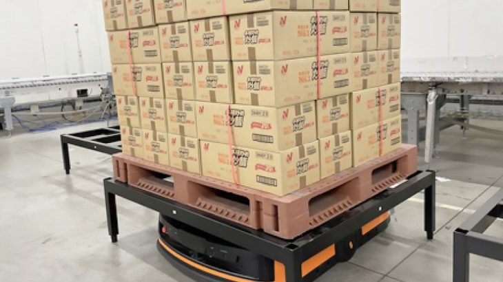 ニチレイロジ、グループの仙台物流センターでパレット搬送型AGV導入