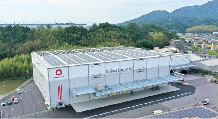 大和物流、滋賀・湖南で5倍に拡張のセンター建て替え工事が完成