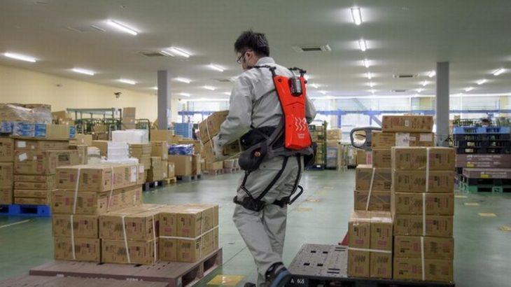 GBS、ドイツ製パワースーツを青森・八戸の物流企業センターに複数台納入