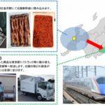 北陸新幹線による荷物輸送拡大、市中店舗への配送も開始