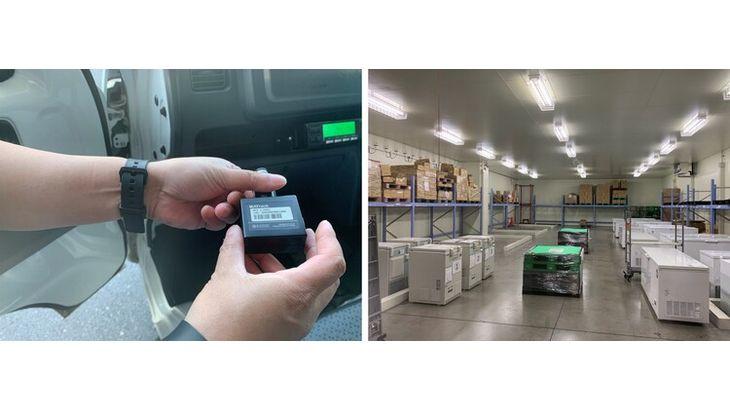 丸和運輸機関、コロナワクチン輸送にHacobuの動態管理サービス採用