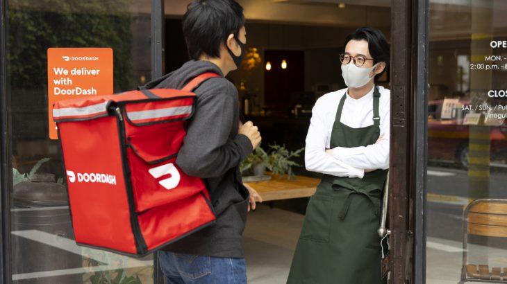 ソフトバンクG出資の米料理宅配大手ドアダッシュ、日本でサービス開始