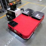 ZMP、台車型物流ロボットに自動充電機能を搭載