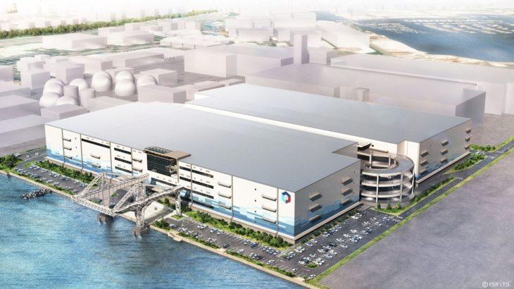 【動画】ESR、横浜・幸浦で19・5万平方メートルの大型物流施設着工