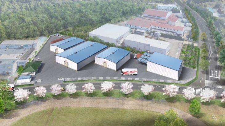 沼尻産業、初の危険物・一般倉庫併設拠点を茨城・阿見で開発へ