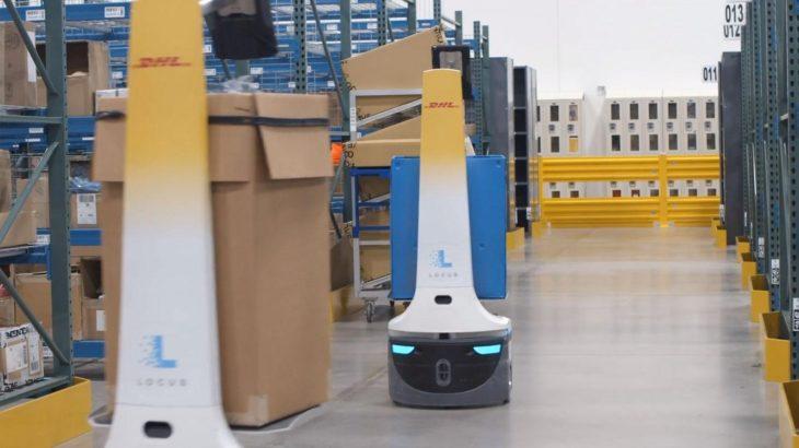 DHLサプライチェーン、米ローカス製ピッキング支援ロボットを22年までに最大2000台導入
