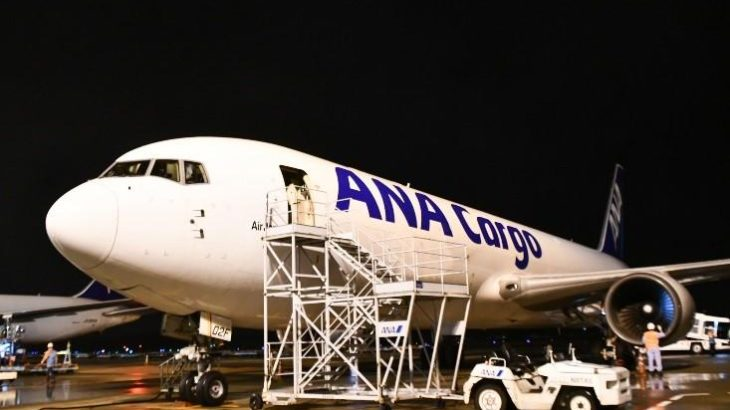 ANAが成田~杭州線に初の貨物専用機就航