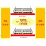 近鉄と福山通運、大阪~名古屋間で貨客混載・当日配送を7月1日開始