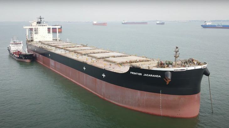 【動画】日本郵船、バイオ燃料でシンガポール~南アフリカを試験航行