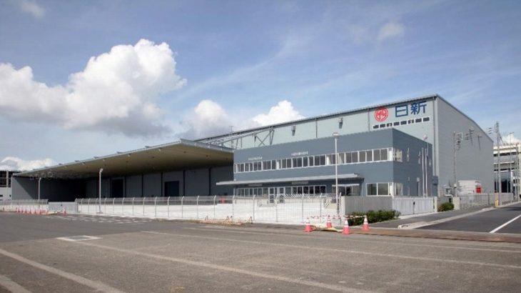 日新、横浜港本牧埠頭で「重量物梱包センター」竣工
