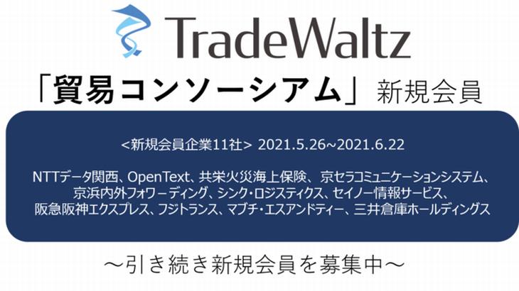 トレードワルツ運営の「貿易コンソーシアム」、会員数が54社に拡大