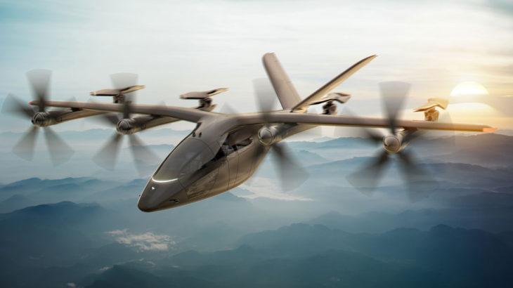 米アメリカン航空、英ヴァーティカルエアロスペースの電動垂直離着陸機を最大350機投資へ
