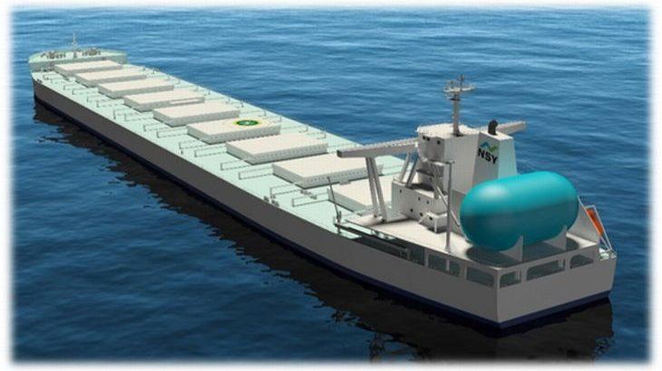 JFEスチールが国内初、21万トン級の大型LNG燃料船導入を決定