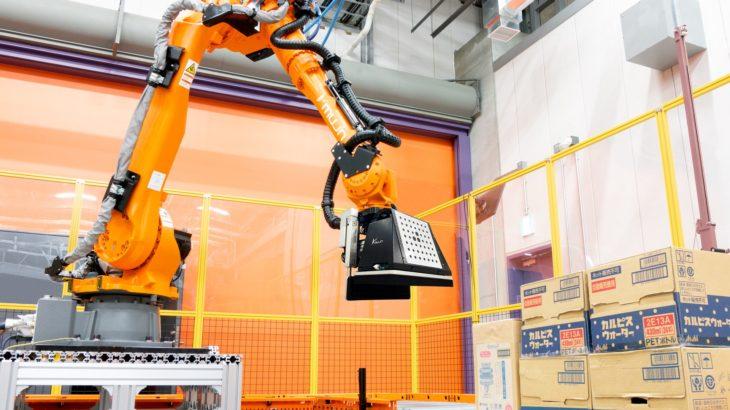 【動画】Mujin、処理速度さらにアップした知能デパレタイズロボットの販売開始