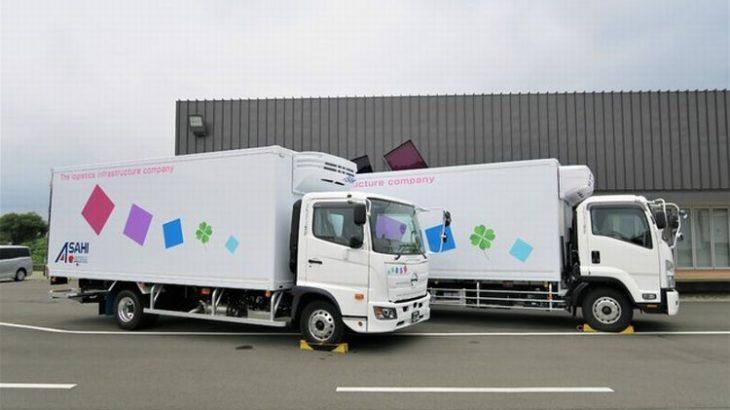 アサヒロジスティクスが女性専用トラックを4拠点目に導入、埼玉初