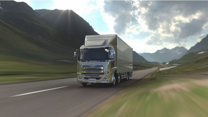 UDトラックス、大型トラック「クオン」にドライバーの疲労軽減と安全確保支える最新電子制御ステアリング搭載