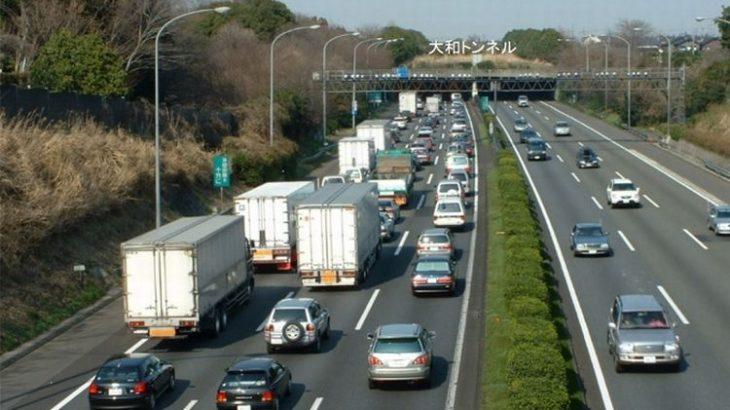 「渋滞の名所」返上?東名道の大和トンネルで拡幅工事が完了