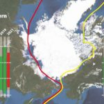 ウェザーニューズが北極海の海氷傾向を発表、温暖化で長期開通と予想